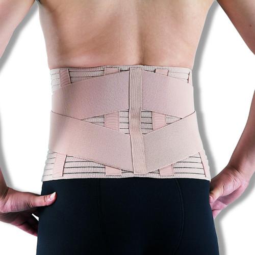 Medical Grade Breathable Back Support  | Lower Lumbar Brace Belt