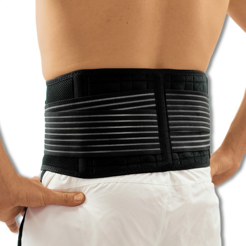 Magnetic Breathable Neoprene Lower Back Support | Adjustable Lumbar Belt