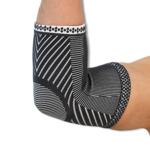 Medical Grade Compression Elbow Support | Made With Advanced 4 Way Stretch Elastic Fabric