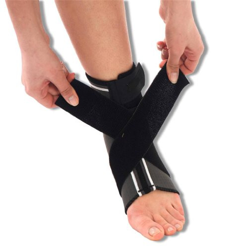 Neoprene Ankle Support Brace with Figure of 8 Wrap Around Strap