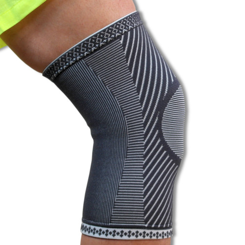 Medical Grade Compression Knee Support | Made With Advanced 4 Way Stretch Elastic Fabric