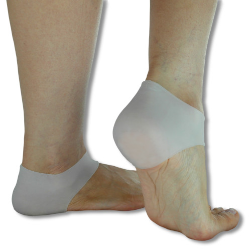 Silicone Gel Heel Cups for Protecting and Moisturising Sore Feet