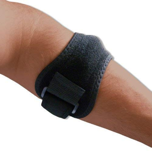 Tennis Golfer's Elbow Support with Removable Pressure Pad