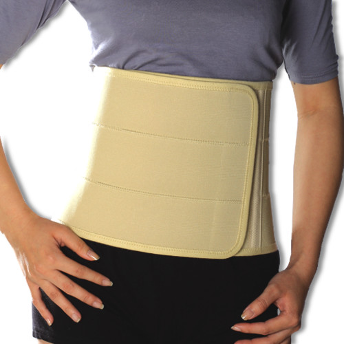 Deluxe Breathable Elastic Abdominal Binder - Medical Grade