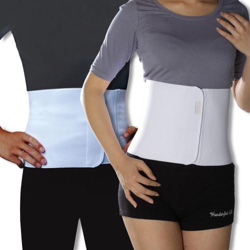 Unisex Abdominal Binder - For Toning, Slimming, Postpartum, Postnatal