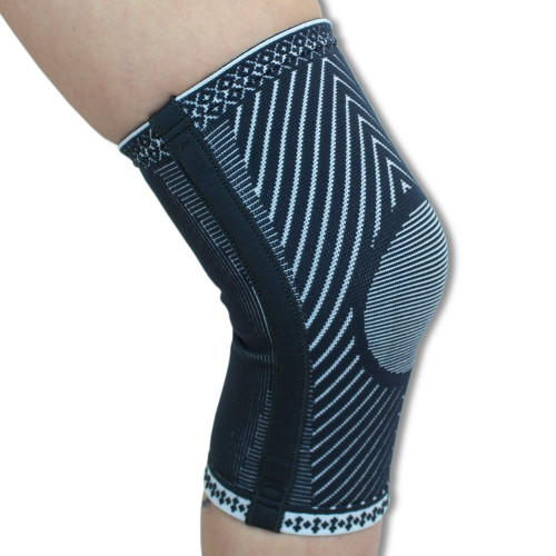 Medical Grade Contoured Elastic Knee Support with 2 Flexible Springs