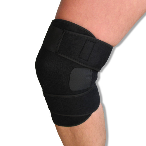 Wraparound Compression Knee Support Neoprene Patella Tendon Brace