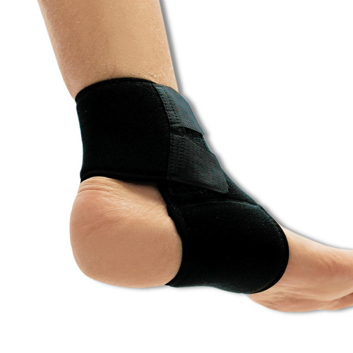 NeoPhysio Black Unisex Breathable Neoprene Ankle Support Compression Brace