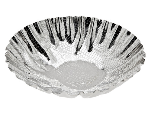 Godinger Croco Scalloped Bowl