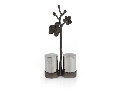 Michael Aram Black Orchid Salt & Pepper Set
