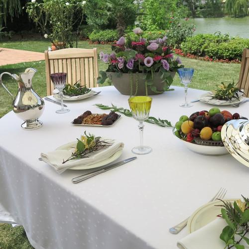 Mode Living Paris Tablecloth- White