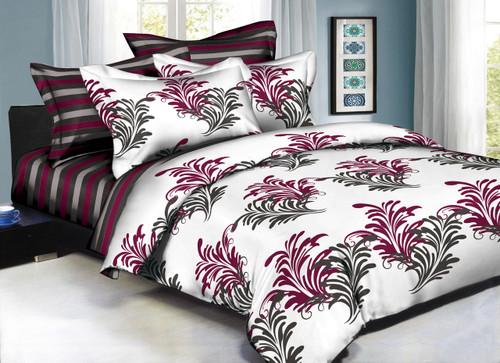 Classique Splendid Leaves Linen Set