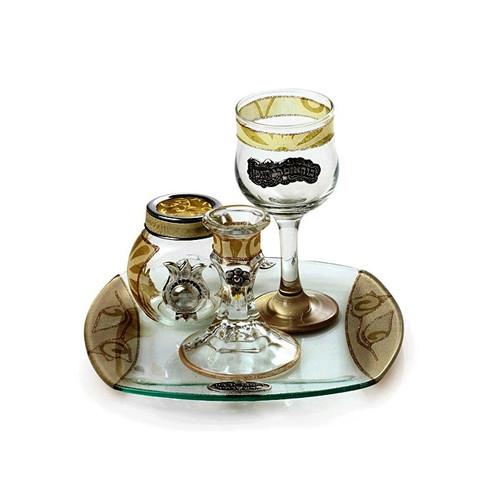 Lily Art Havdalah Set- Golden (LLA-300613-29T)