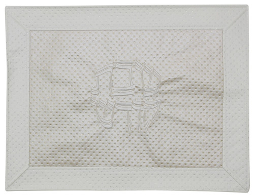 Majestic Collection Vinyl Challah Cover - Ivory (GMG-CC208)
