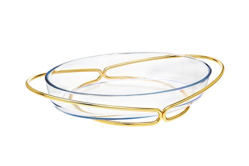Godinger Oval Baker- Gold (84350)