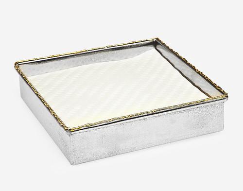 Godinger Golden Frost Square Napkin Holder