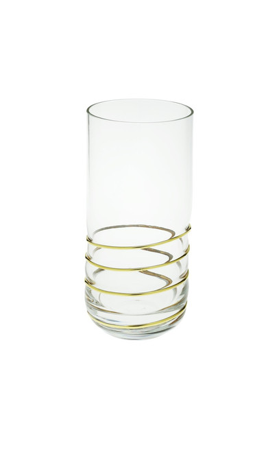 Swirl Gold Tumblers (Set of 6) (CSHBG387)