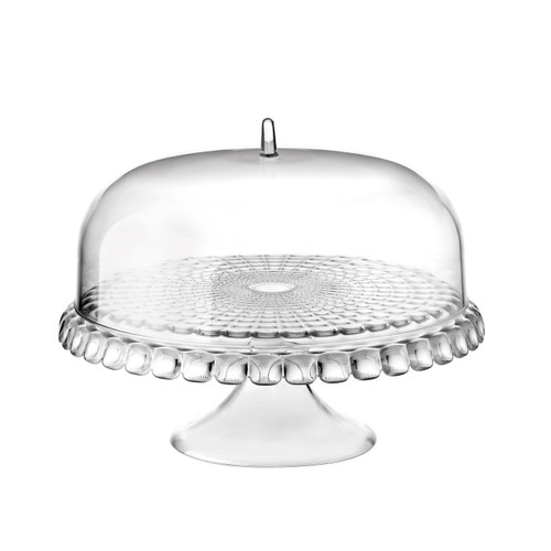 Guzzini Tiffany Cake Stand w/ Dome - Clear (19940000)