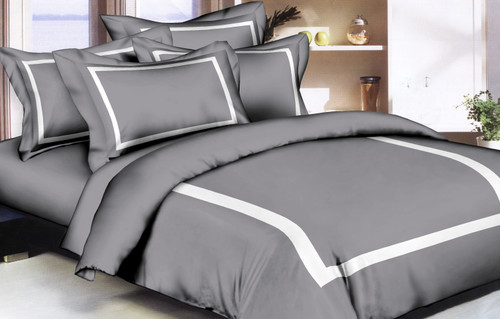 Hotel Style Grey Linen Set
