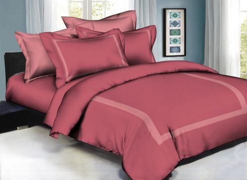 Hotel Style Mauve Linen Set