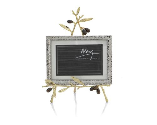 Michael Aram Olive Branch Gold Convertible Easel Frame
