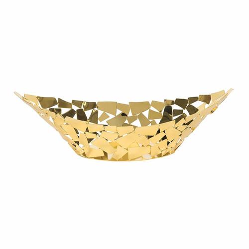 "Golden Facets Boat/Centerpiece 18"""