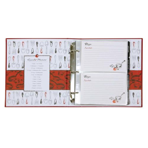 A La Carte Pocket Page Recipe Book