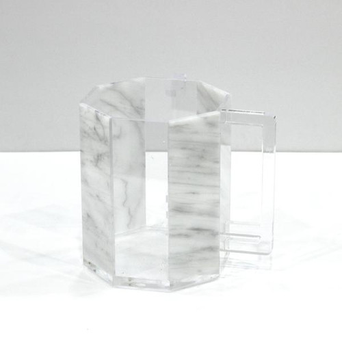 Lucite Washing Cup Marble