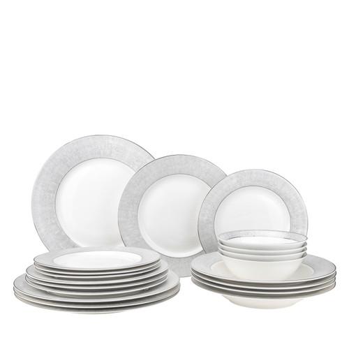 Gold Platinum Bone China Dinnerware (Service for 4)