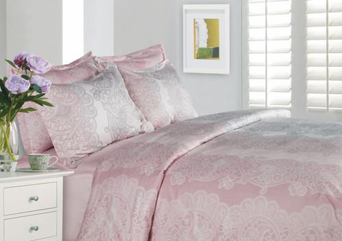 La Vie En Rose Linen Set