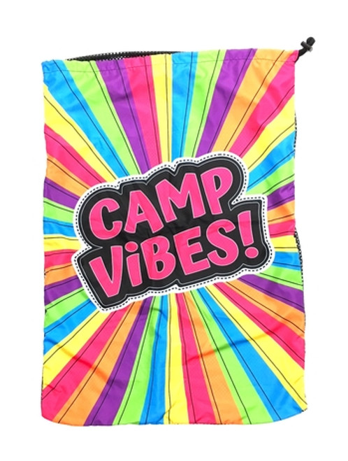 Camp Vibes Laundry Bag