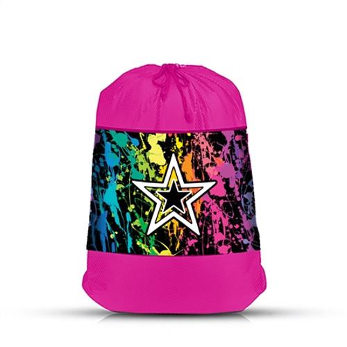 Splatter Star Laundry Bag