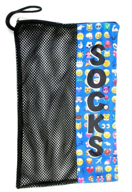 Multi Emoji Sock Bag