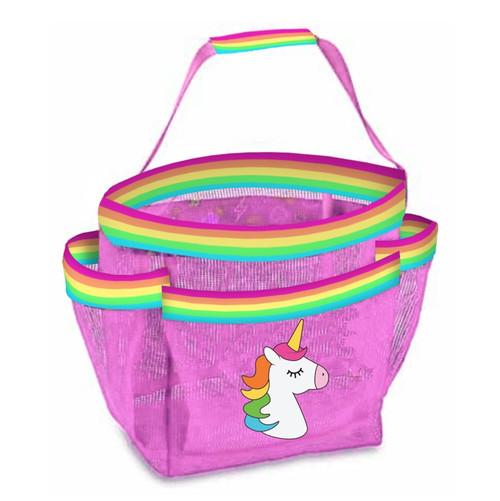 Unicorn Stripe Shower Caddy