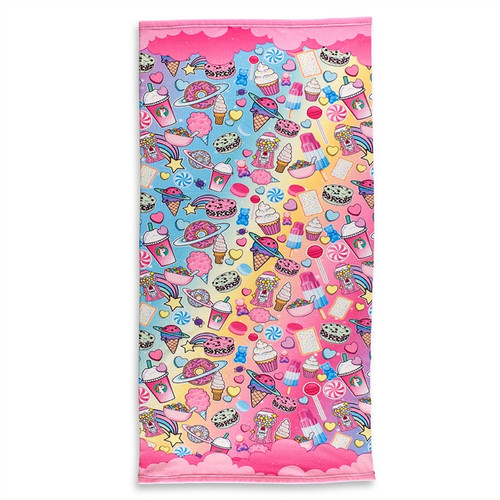 Planet Sweets Beach Towel
