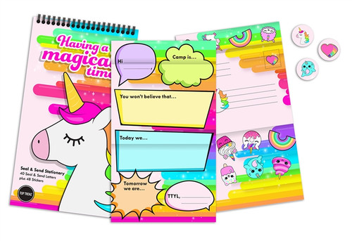 Unicorn Stationary Send & Seal