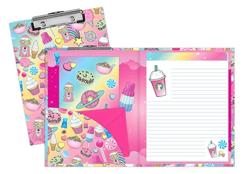Planet Sweets Clipboard Set