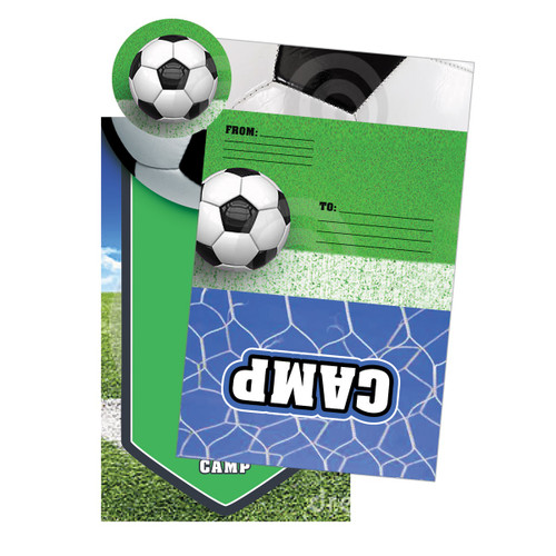 Soccer Camp Notecards