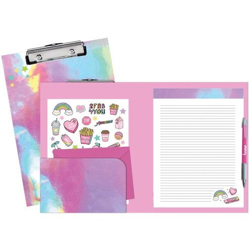 Pink Holographic Clipboard