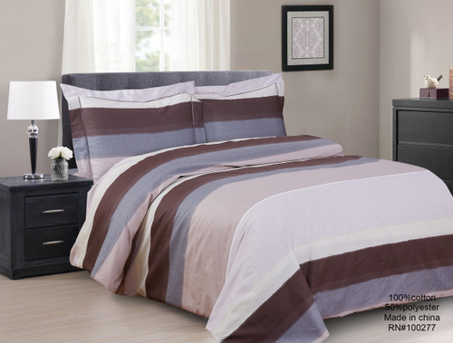 French New Yardley Stripe Linen Set