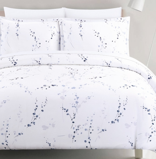 Constellation Indigo/Silver Linen Set
