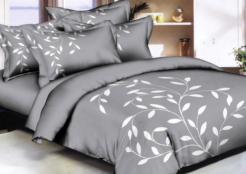 Graceful Leaves Linen Set