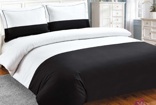 French Hotel Black Linen Set