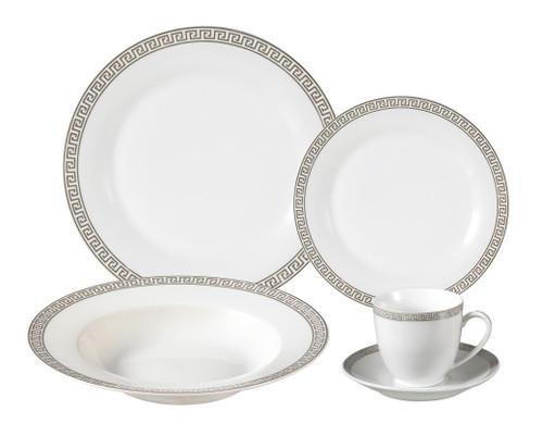Lorenzo Greek Key Dinnerware Set