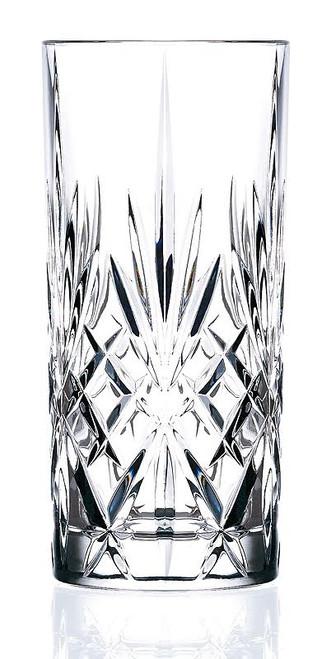 Lorenzo Melodia Crystal Highball Glass Set