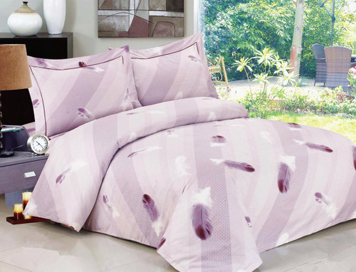 French Feathers Linen Set