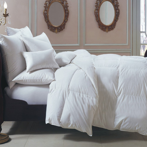 Bernina 650 Fill Power White Goose Down European Comforter