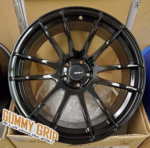 AVID 1 AV20 - 19x10.5 5X114.3 +22 Gloss Black