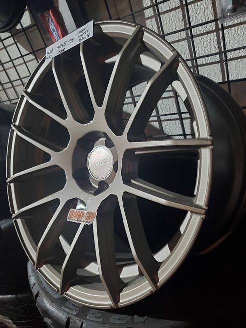 AVID 1 SL01 - 18x9.5 5X100 +38 Matte Bronze
