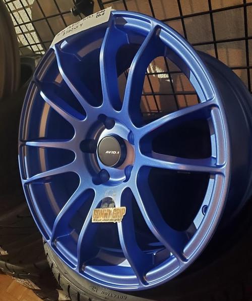 AVID 1 AV20 - 17x8 5X114.3 +35 Matte Blue